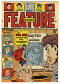 Golden Age (1938-1955):Superhero, Feature Comics #127 Mile High pedigree (Quality, 1948) Condition: NM+. Doll Man cover. Overstreet 2006 NM- 9.2 value = $140....
