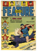 Golden Age (1938-1955):Superhero, Feature Comics #128 Mile High pedigree (Quality, 1948) Condition: NM+. Doll Man cover. Overstreet 2006 NM- 9.2 value = $140....