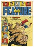 Golden Age (1938-1955):Superhero, Feature Comics #130 Mile High pedigree (Quality, 1949) Condition: NM. Doll Man cover. Overstreet 2006 NM- 9.2 value = $140. ...