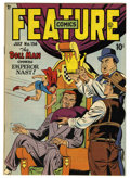 Golden Age (1938-1955):Superhero, Feature Comics #136 Mile High pedigree (Quality) Condition: NM. Doll Man cover. Overstreet 2006 NM- 9.2 value = $140. From...