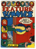 Golden Age (1938-1955):Humor, Feature Funnies #17 Mile High pedigree (Chesler, 1939) Condition: VG. Overstreet 2006 VG 4.0 value = $100. From the Collec...