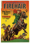 Golden Age (1938-1955):Adventure, Firehair Comics #7 Mile High pedigree (Fiction House, 1951) Condition: VF. Title continued from Pioneer West Romances. O...