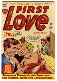 """First Love Illustrated #3 Davis Crippen (""""D"""" Copy) pedigree (Harvey, 1949) Condition: VF/NM. Contains the infa..."""