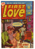 "Golden Age (1938-1955):Romance, First Love Illustrated #15 Davis Crippen (""D"" Copy) pedigree (Harvey, 1951) Condition: VF/NM. Overstreet 2006 VF/NM 9.0 valu..."
