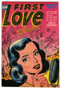 "Golden Age (1938-1955):Romance, First Love Illustrated #32 Davis Crippen (""D"" Copy) pedigree(Harvey, 1953) Condition: VF+. Overstreet 2006 VF 8.0 value = $..."