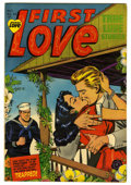 "Golden Age (1938-1955):Romance, First Love Illustrated #33 Davis Crippen (""D"" Copy) pedigree(Harvey, 1953) Condition: VF+. Overstreet 2006 VF 8.0 value = $..."