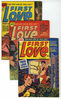 """Golden Age (1938-1955):Romance, First Love Illustrated - Davis Crippen (""""D"""" Copy) pedigree Group(Harvey, 1949). Includes #12 (FR), #13 (contains the story ...(Total: 5 Comic Books)"""