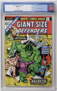 Giant-Size Defenders #1 (Marvel, 1974) CGC NM 9.4 White pages. Silver Surfer appearance. Gil Kane cover. Jim Starlin and...