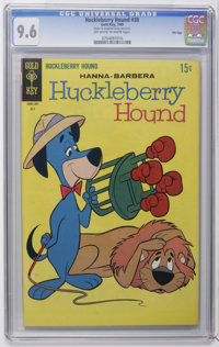 Huckleberry Hound #38 File Copy (Gold Key, 1969) CGC NM+ 9.6 Off-white to white pages. Overstreet 2006 NM- 9.2 value = $...