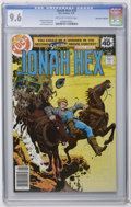 Bronze Age (1970-1979):Western, Jonah Hex #20 Don Rosa Collection pedigree (DC, 1979) CGC NM+ 9.6 Off-white to white pages. Overstreet 2006 NM- 9.2 value = ...