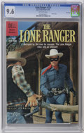 Silver Age (1956-1969):Western, Lone Ranger #132 File Copy (Dell, 1960) CGC NM+ 9.6 Off-whitepages. Photo cover. Overstreet 2006 NM- 9.2 value = $150. CGC ...