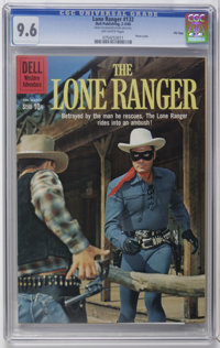 Lone Ranger #132 File Copy (Dell, 1960) CGC NM+ 9.6 Off-white pages. Photo cover. Overstreet 2006 NM- 9.2 value = $150...