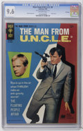 Silver Age (1956-1969):Adventure, Man from U.N.C.L.E. #8 File Copy (Gold Key, 1966) CGC NM+ 9.6 Off-white pages. Photo cover. Photo pin-up back cover. Mike Se...