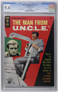 Silver Age (1956-1969):Adventure, Man from U.N.C.L.E. #13 File Copy (Gold Key, 1967) CGC NM 9.4 White pages. Photo cover. Mike Sekowsky art. Overstreet 2006 N...