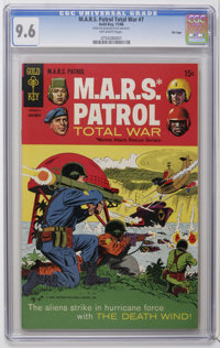 M.A.R.S. Patrol Total War #7 File Copy (Gold Key, 1968) CGC NM+ 9.6 Off-white pages. Line drawn cover. Overstreet 2006 N...