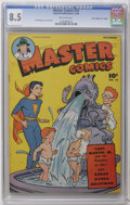 "Golden Age (1938-1955):Science Fiction, Master Comics #74 Davis Crippen (""D"" Copy) pedigree (Fawcett, 1946)CGC VF+ 8.5 Off-white pages. Bud Thompson cover and art...."