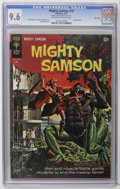 Silver Age (1956-1969):Adventure, Mighty Samson #10 File Copy (Gold Key, 1967) CGC NM+ 9.6 Off-white to white pages. Painted cover. Jack Sparling art. Overstr...