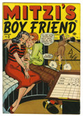 "Golden Age (1938-1955):Romance, Mitzi's Boy Friend #3 Davis Crippen (""D"" Copy) pedigree (Marvel, 1948) Condition: FN+. Overstreet 2006 FN 6.0 value = $33; V..."