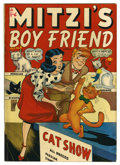 "Golden Age (1938-1955):Romance, Mitzi's Boy Friend #4 Davis Crippen (""D"" Copy) pedigree (Marvel, 1948) Condition: FN/VF. Overstreet 2006 FN 6.0 value = $33;..."