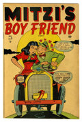 "Golden Age (1938-1955):Romance, Mitzi's Boy Friend #5 Davis Crippen (""D"" Copy) pedigree (Marvel,1948) Condition: FN/VF. Overstreet 2006 FN 6.0 value = $33;..."