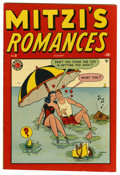 "Golden Age (1938-1955):Romance, Mitzi's Romances #9 Davis Crippen (""D"" Copy) pedigree (Timely,1949) Condition: VF/NM. Overstreet 2006 VF/NM 9.0 value = $72..."