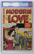 Golden Age (1938-1955):Romance, Modern Love #8 (EC, 1950) CGC FN+ 6.5 Cream to off-white pages.Last issue of the title. Comic-industry parody with appearan...