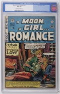 Golden Age (1938-1955):Romance, A Moon, A Girl...Romance #11 (EC, 1950) CGC VG+ 4.5 Cream tooff-white pages. Al Feldstein cover. Wally Wood art. Overstreet...