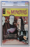 Silver Age (1956-1969):Humor, Munsters #1 File Copy (Gold Key, 1965) CGC NM- 9.2 Off-white to white pages. Photo cover. Pin-up back cover. Highest CGC gra...