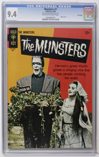 Munsters #7 File Copy (Gold Key, 1966) CGC NM 9.4 Off-white to white pages. Photo cover. Overstreet 2006 NM- 9.2 value =...