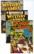 Silver Age (1956-1969):Science Fiction, Mystery in Space #32-35 Group (DC, 1956-57) Condition: Average VG. This group consists of four comics: #32, #33 (has color t... (Total: 4 Comic Books)