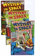 Silver Age (1956-1969):Science Fiction, Mystery in Space #101-110 Group (DC, 1965-66) Condition: AverageVF-. Includes #101 (Gil Kane cover), #102 (last Adam Strang...(Total: 10 Comic Books)