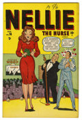"Golden Age (1938-1955):Romance, Nellie the Nurse #14 Davis Crippen (""D"" Copy) pedigree (Timely,1948) Condition: VF/NM. Overstreet 2006 VF/NM 9.0 value = $1..."
