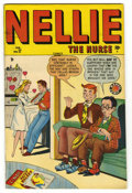 """Golden Age (1938-1955):Romance, Nellie the Nurse #17 Davis Crippen (""""D"""" Copy) pedigree (Timely,1949) Condition: VF+. Annie Oakley appearance. Overstreet 20..."""