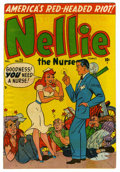 """Golden Age (1938-1955):Romance, Nellie the Nurse #25 Davis Crippen (""""D"""" Copy) pedigree (Timely,1950) Condition: FN. Overstreet 2006 FN 6.0 value = $30.F..."""