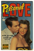 Golden Age (1938-1955):Romance, Personal Love #8 (Famous Funnies, 1951) Condition: FN. EstherWilliams and Howard Keel are featured on the photo cover. Over...