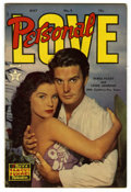 Golden Age (1938-1955):Romance, Personal Love #9 (Famous Funnies, 1951) Condition: VF-. LouisJordan and Debra Paget are featured on the photo cover. Overst...