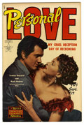 """Golden Age (1938-1955):Romance, Personal Love #17 (Famous Funnies, 1952) Condition: NM-. FrankFrazetta art on """"Prayer Works Wonders"""" one-pager. Rock Hudson..."""