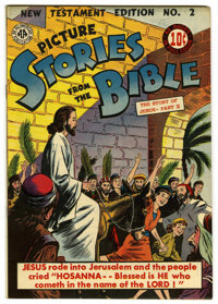 Picture Stories from the Bible New Testament #2 Mile High pedigree (DC, 1946) Condition: VF. While this edition has the...