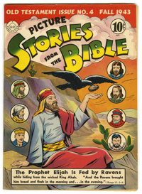 Picture Stories from the Bible Old Testament #4 Mile High pedigree (DC, 1943) Condition: VF/NM. Note that the DC printin...