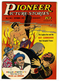 Golden Age (1938-1955):Miscellaneous, Pioneer Picture Stories #4 Mile High pedigree (Street & Smith, 1942) Condition: NM. Excellent cover gloss on this copy. The ...