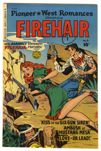 Pioneer West Romances #4 Mile High pedigree (Fiction House, 1950) Condition: NM-. Staring Firehair. Overstreet 2006 NM-...