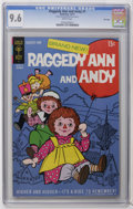 Bronze Age (1970-1979):Cartoon Character, Raggedy Ann and Andy #1 File Copy (Gold Key, 1971) CGC NM+ 9.6White pages. Highest CGC grade for this issue. Overstreet 200...