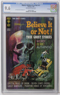 Ripley's Believe It Or Not #11 File Copy (Gold Key, 1968) CGC NM+ 9.6 Off-white to white pages. Joe Certa and Luis Domin...