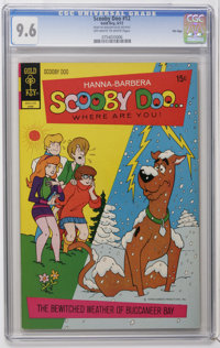 Scooby Doo #12 File Copy (Gold Key, 1972) CGC NM+ 9.6 Off-white to white pages. Overstreet 2006 NM- 9.2 value = $65. CGC...
