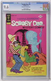 Scooby Doo #30 File Copy (Gold Key, 1975) CGC NM+ 9.6 Off-white to white pages. Overstreet 2006 NM- 9.2 value = $48. CGC...