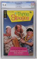 Bronze Age (1970-1979):Humor, Three Stooges #53 File Copy (Gold Key, 1971) CGC NM 9.4 Off-whiteto white pages. Photo cover. Overstreet 2006 NM- 9.2 value...