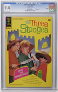 Bronze Age (1970-1979):Humor, Three Stooges #55 File Copy (Gold Key, 1972) CGC NM 9.4 Whitepages. Photo cover. Last Gold Key issue. Overstreet 2006 NM- 9...