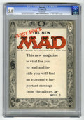 """Magazines:Mad, Mad #24 (EC, 1955) CGC VG/FN 5.0 Off-white pages. First magazine issue. First """"What? Me Worry?"""" on cover. Harvey Kurtzman lo..."""