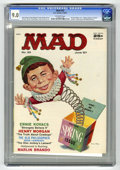 Magazines:Mad, Mad #33 (EC, 1957) CGC VF/NM 9.0 Off-white pages. Norman Mingo cover. Ernie Kovacs story. Wally Wood, Joe Orlando, Don Marti...