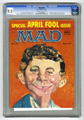 Magazines:Mad, Mad #39 (EC, 1958) CGC NM- 9.2 Off-white to white pages. Celebritymontage cover by C. C. Beall Jr. Wally Wood, Joe Orlando,...